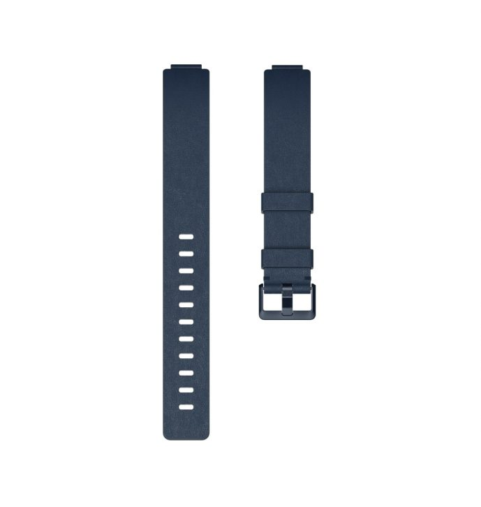 Fitbit Inspire Flat Leather Midnight Blue Band - Singapore