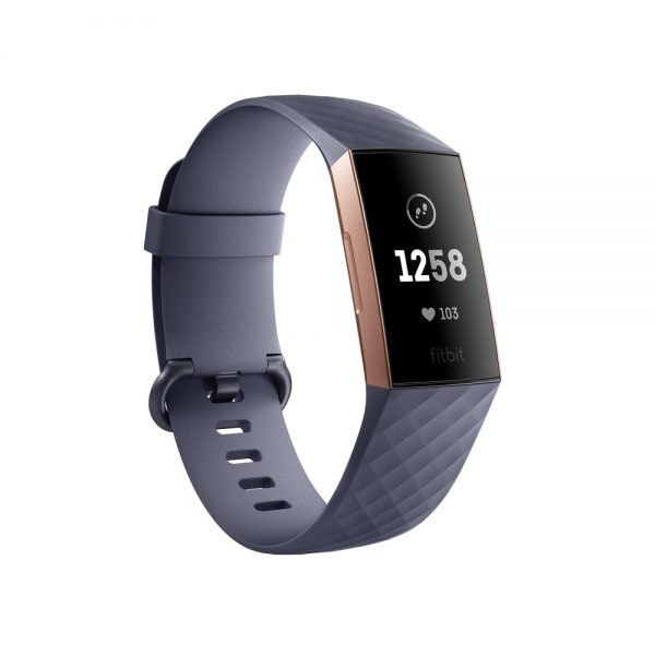 Fitbit Charge 3 (Blue Gray Rose Gold) Singapore