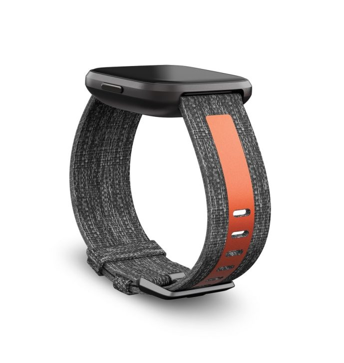 Fitbit Versa 2 Woven Reflective Band
