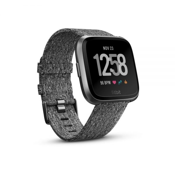 Fitbit Versa Special Edition (Charcoal) Singapore